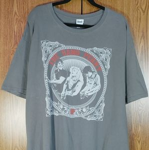 The Band Perry Mens T Shirt XXL Gray Concert Tee